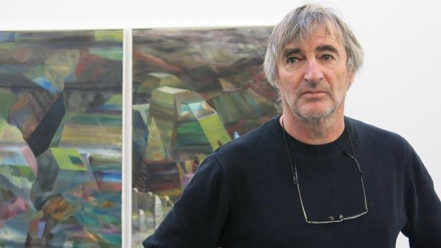Heinz Häsler in «seinem» Kunsthaus in Interlaken.