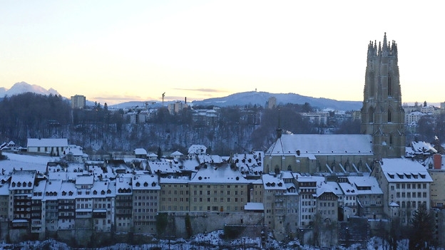 Frostige Beziehungen zwischen der Stadt Freiburg und den Nachbargemeinden.