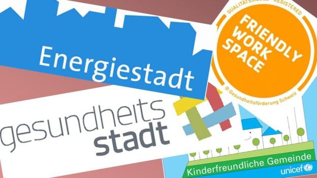 Labelwirrwarr: Die Stadt Thun überprüft den Nutzen von Labels.