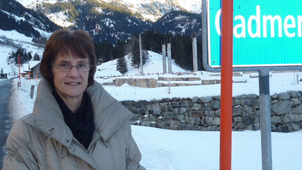 Mit Leib und Seele für Gadmen eingestanden: die abtretende Gemeindepräsidentin Barbara Kehrli.