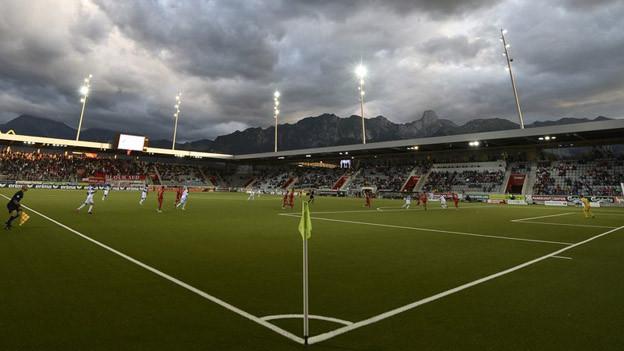 Blick in das Stadion