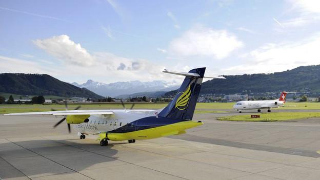 Flugzeuge fliegen Belp künftig mehr von Thun her an.
