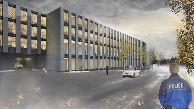 So soll das neue Gebäude dereinst aussehen.