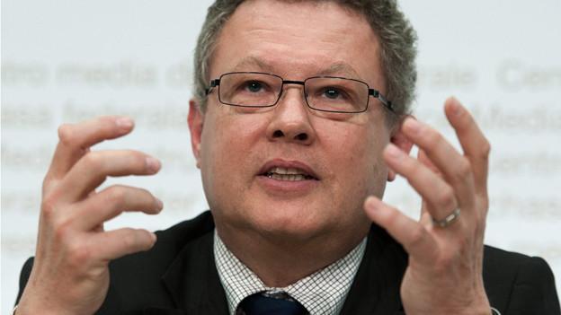 BKW-Verwaltungsratspräsident Urs Gasche.