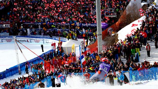 Der letzte Tag der Lauberhornrennen endete mit einem Slalom-Sieg des Franzosen Alexis Pinturlaut.