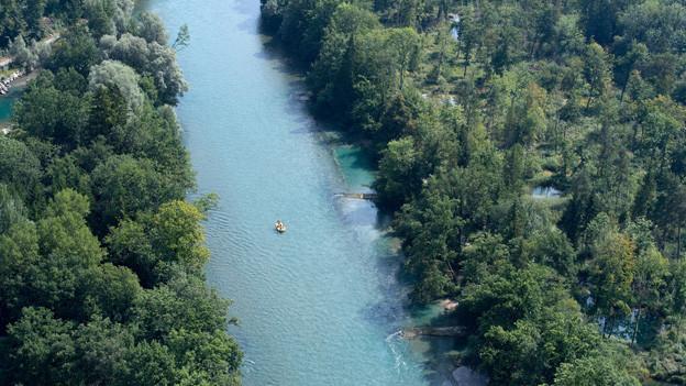 Der Kanton arbeitet Richtpläne für die wichtigsten Gewässer aus. Hier die Aare bei Bern.
