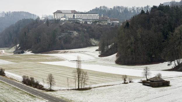 Blick auf die Strafanstalt Thorberg.