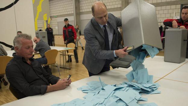 Einzig Moutier sagte Ja zum Kantonswechsel im November.