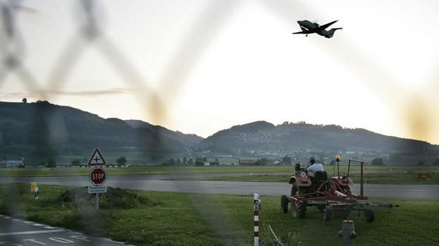 Das neue Anflugregime des Flughafens gibt Anlass zur Kritik.
