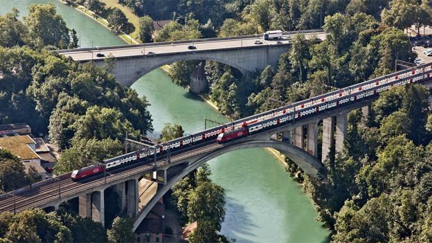 Bern brummt - jedoch nicht so stark wie andere Zentren in der Schweiz.