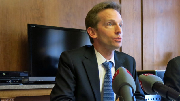 Der Stadtberner Finanzdirektor Alexandre Schmidt