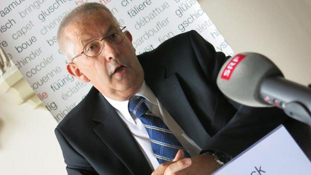 Jan von Overbeck, Berner Kantonsarzt.