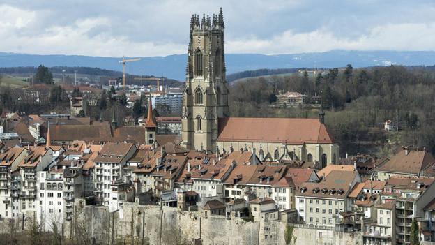 Die Altstadt von Freiburg - mit zuvielen Zweitwohnungen?