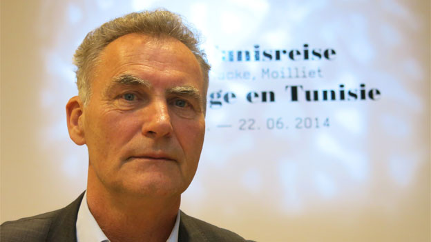 Klee-Kurator Michael Baumgartner inszenierte die «Tunisreise»