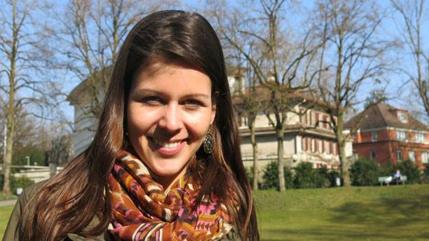 Melanie Oesch hat zwei Seelen: eine fröhliche und eine melancholische.