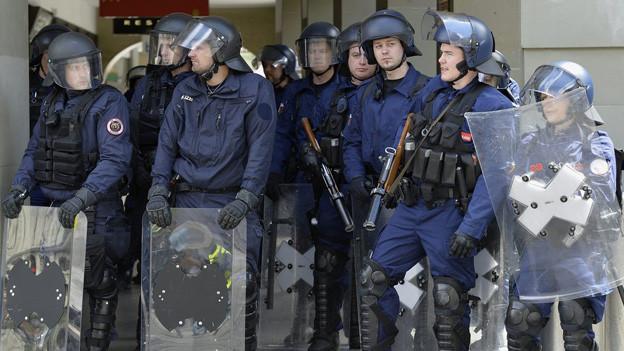 Die Polizei rechnet mit einem Grosseinsatz am übernächsten Samstag.