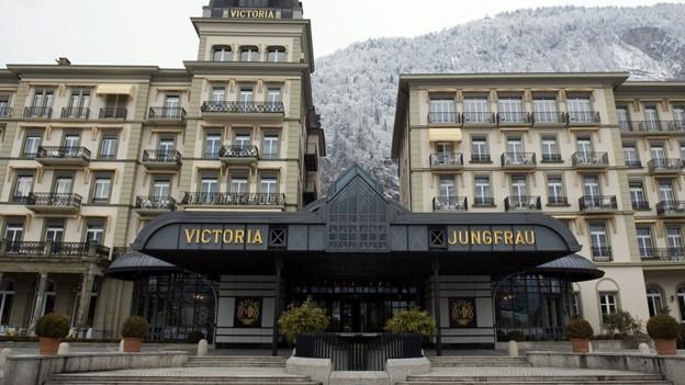 Das Hotel Victoria Jungfrau Interlaken.