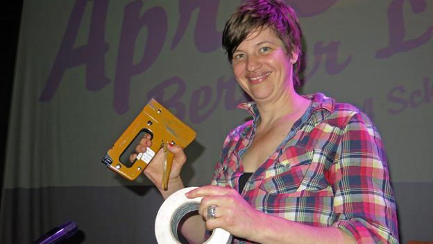Sandra Künzi hat in Bern ein Lesefest ins Leben gerufen.