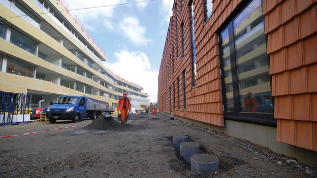 Die Gemeinde Köniz will durch verdichtetes Bauen weiter wachsen.