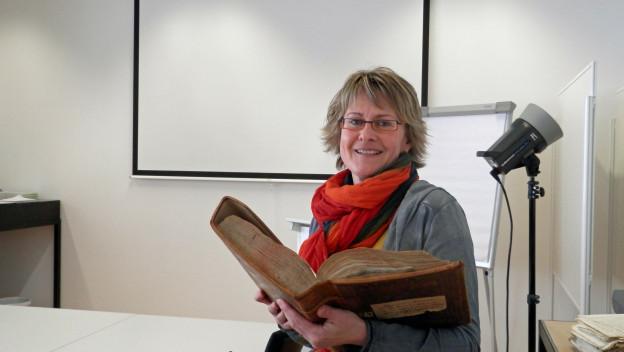 Die Freiburger Historikerin Rita Binz-Wolhauser.