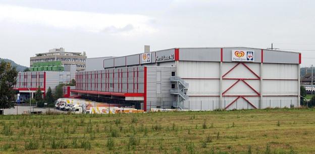 Die ehemalige Produktionshalle in Ostermundigen.