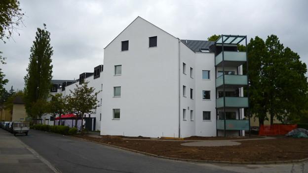 Sanierte Wohnungen der Stadt Bern in Bümpliz.