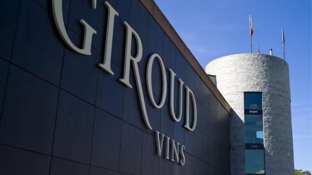 «Giroud Vins» in Sion.
