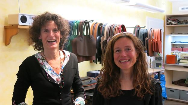 Fiona Losinger und Ursula Häni.