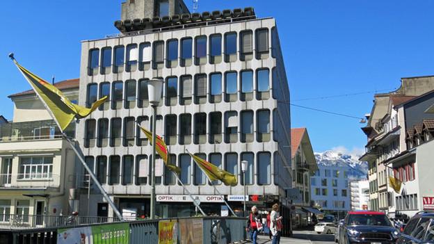 Die Denkmalpflege prüft auch das Geschäftshaus Nummer 1 im Thuner Bälliz.