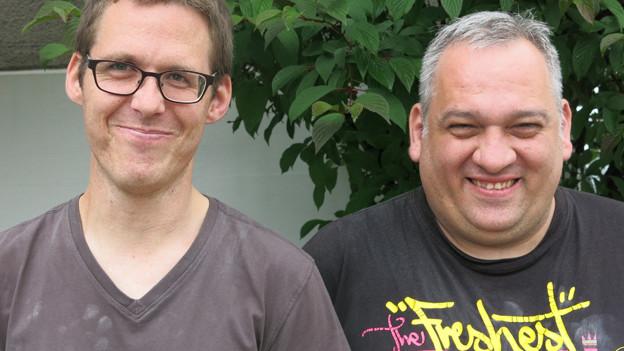 Bei Jürg Gertsch (l.) und Patrik Steiner ist die Vorfreude gross.