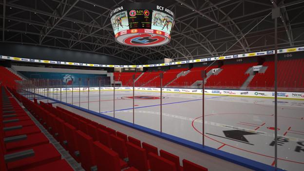 8500 Zuschauer fasst die neue Arena.