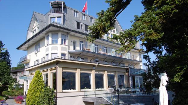 Das Hotel Belvédère in Spiez.