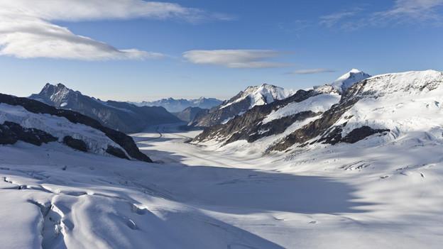 Der Aletschgletscher wird im Herbst nicht Schauplatz eines Weltrekordversuchs.