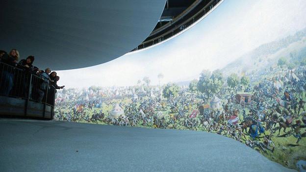Das letzte Mal wurde das Panorama an der Expo 02 ausgestellt.