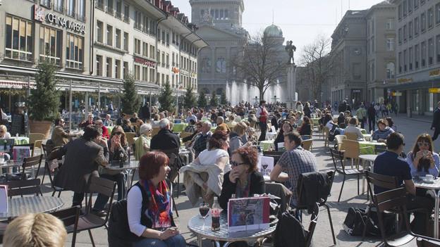Jeder dritte Einwohner der Stadt Bern hat Migrationshintergrund.