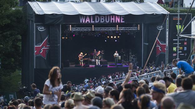 Das Gurtenfestival verzeichnete einen Besucherrekord.