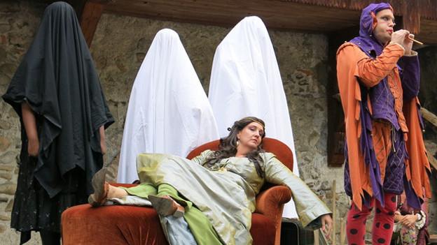 Lisi von Kyburg langweilt sich und beschliesst, Thun zu verlassen