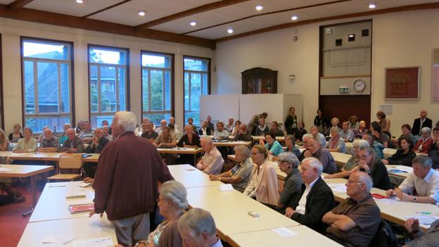 Rege Beteiligung an Diskussion über das Tram Region Bern