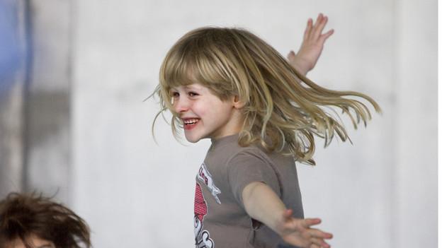 Mit Bewegung und Freude zum gesunden Körpergewicht - die Prävention beginnt bei den Kindern.