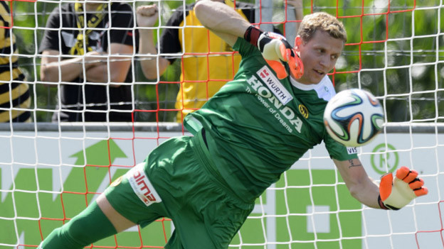 YB-Goalie Marco Wölfli wieder mal im Einsatz