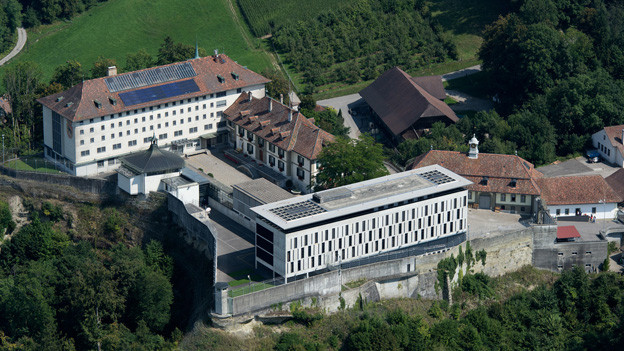 Die Strafanstalt Thorberg in Krauchthal.