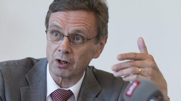 Regierungsrat Hans-Jürg Käser: Er setzte sich im bernischen Grossen Rat für minderjährige Asylsuchende ein.