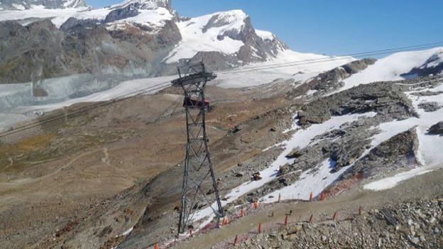 Seilbahnexperte in Zermatt tödlich verunfallt.