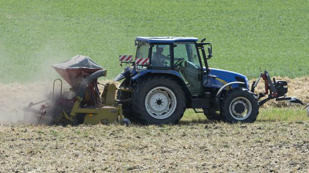 Die Feldarbeit der Bauern soll nicht zu kurz kommen.