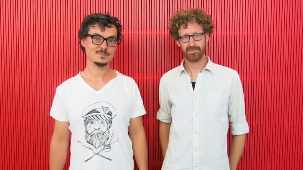 Die «Mad Scientists» Matthias Baechthold und Roland Fischer.
