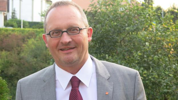 Der neue CVP-Präsident André Schönenweid.