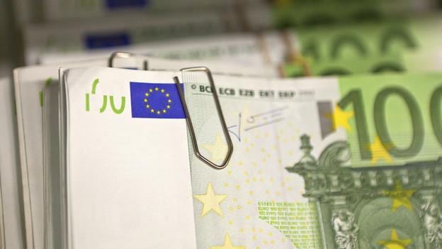 Bei der Polizei sind 120'000 Euro verschwunden.