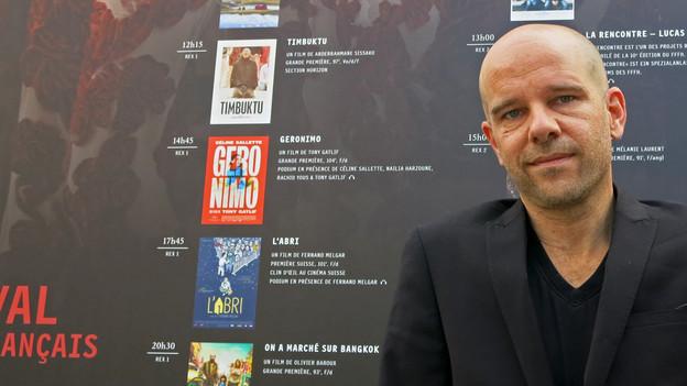 Christian Kellenberger freut sich sehr darauf, das Festival du Film français d'Hélvetie zu eröffnen.