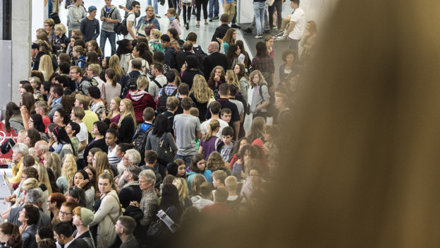 Viel Volk: 155'000 Besucher kamen an die ersten Schweizer Berufsmeisterschaften.