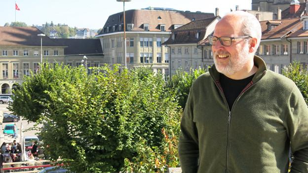 Alexandre Fasel dort, wo er am wohlsten ist: in Freiburg.